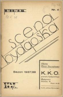 [Program:] Scena bydgoska. Sezon 1937/38, 1938-06-18