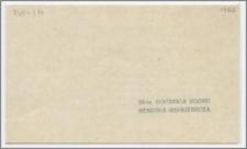 [Zaproszenie. Incipit] Towarzystwo Naukowe w Toruniu ma zaszczyt prosić Dyrekcję Biblioteki Głównej UMK w Toruniu na Doroczne Posiedzenie Publiczne Towarzystwa ...19 lutego 1957 roku