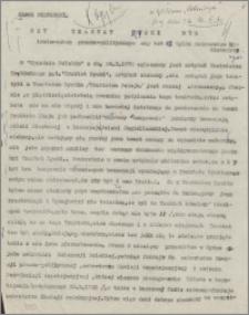 Czy Traktat Ryski był instrumentem prawno-politycznym czy też tylko dokumentem historycznym