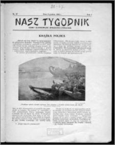 Nasz Tygodnik 1924, R. I, nr 27