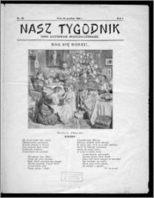 Nasz Tygodnik 1924, R. I, nr 29
