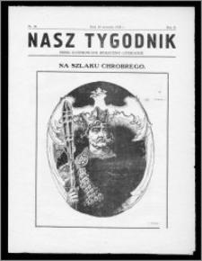 Nasz Tygodnik 1925, R. II, nr 38