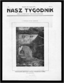 Nasz Tygodnik 1926, R. III, nr 1