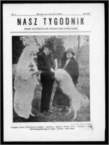 Nasz Tygodnik 1926, R. III, nr 2