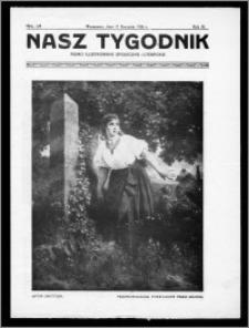 Nasz Tygodnik 1926, R. III, nr 3