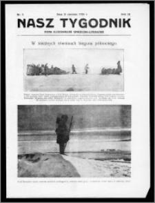 Nasz Tygodnik 1926, R. III, nr 5