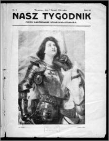 Nasz Tygodnik 1926, R. III, nr 6