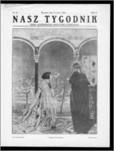 Nasz Tygodnik 1926, R. III, nr 12