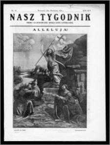 Nasz Tygodnik 1926, R. III, nr 14