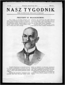 Nasz Tygodnik 1926, R. III, nr 20