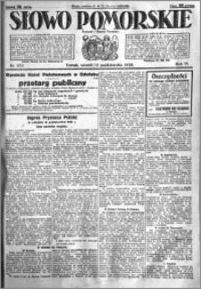 Słowo Pomorskie 1926.10.12 R.6 nr 235