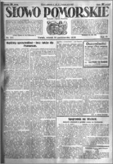 Słowo Pomorskie 1926.10.19 R.6 nr 241