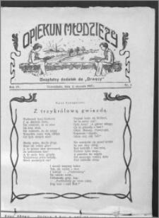 Opiekun Młodzieży 1927, R. 4, nr 1