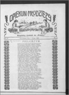Opiekun Młodzieży 1927, R. 4, nr 5