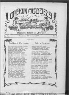 Opiekun Młodzieży 1927, R. 4, nr 10