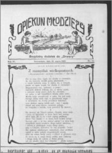 Opiekun Młodzieży 1927, R. 4, nr 11