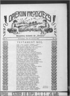 Opiekun Młodzieży 1927, R. 4, nr 25