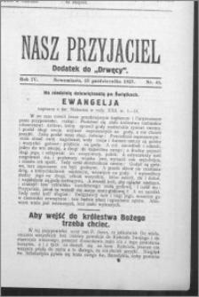 Nasz Przyjaciel 1927, R. 4, nr 41