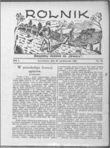 Rolnik 1927, R. 1, nr 39