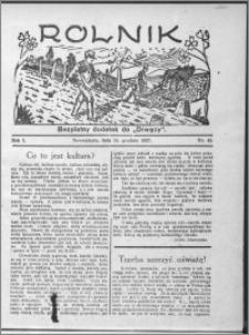 Rolnik 1927, R. 1, nr 45