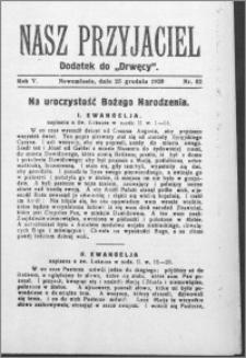 Nasz Przyjaciel 1928, R. 5, nr 52