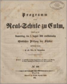 Programm der Real-Schule zu Culm