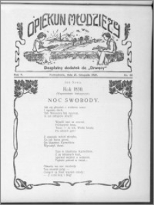 Opiekun Młodzieży 1928, R. 5, nr 38