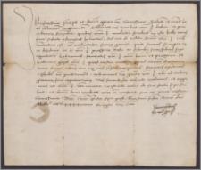 Jan Olbracht król polski do Fryderyka II margrabiego brandenburskiego. Cieszy się z szczęśliwego jego powrotu z wojny, dziękuje za przychylność okazaną posłowi polskiemu u cesarza