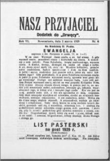 Nasz Przyjaciel 1929, R. 6, nr 8