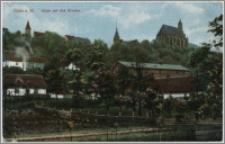 Culm a. W. Blick auf das Kloster
