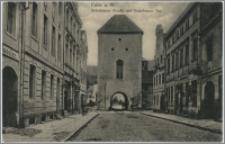 Culm a. W. Graudenzer Straße mit Graudenzer Tor.