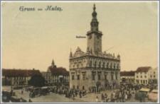 Gruss aus Kulm. Rathaus