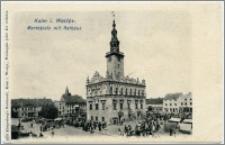 Kulm i. Westpr. Marktplatz mit Rathaus