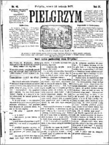 Pielgrzym, pismo religijne dla ludu 1877 nr 46