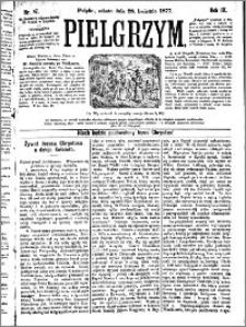 Pielgrzym, pismo religijne dla ludu 1877 nr 47