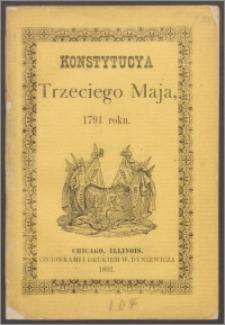 Konstytucya Trzeciego Maja, 1791 roku