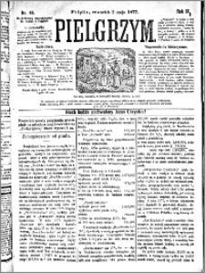 Pielgrzym, pismo religijne dla ludu 1877 nr 49
