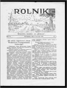 Rolnik 1932, R. 6, nr 1
