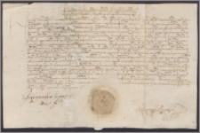 Zygmunt August król polski oddaje Andrzejowi Ligowskiemu w dzierżawę Wojszwidowo w pow.kowieńskim do Wielkanocy 1563 roku