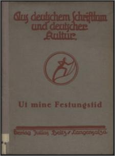 Ut mine Festungstid : de Festung Graudenz