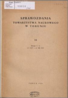 Sprawozdania Towarzystwa Naukowego w Toruniu 1957, nr 11