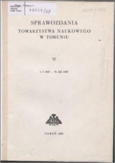 Sprawozdania Towarzystwa Naukowego w Toruniu 1983, nr 37
