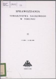 Sprawozdania Towarzystwa Naukowego w Toruniu 1998, nr 52