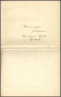 Materiały działalnośći naukowo-dydaktycznej Tadeusza Czeżowskiego, cz. 5