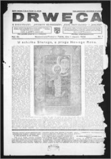 Drwęca 1932, R. 12, nr 1