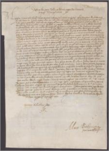 Stefan król polski do Jana Hlebowicza kasztelana mińskiego żąda, aby przyjechał do Krakowa celem przyśpieszenia koronacji i uczestniczenia w sejmie