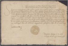 Stefan król polski nadaje Janowi Chodkiewiczowi kasztelanowi wileńskiemu starostwo Birsztany w dożywocie