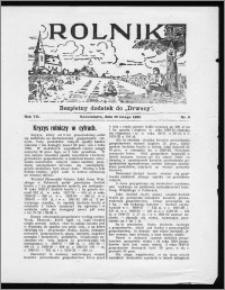 Rolnik 1933, R. 7, nr 6