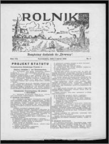 Rolnik 1933, R. 7, nr 8