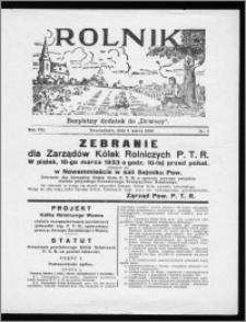 Rolnik 1933, R. 7, nr 9